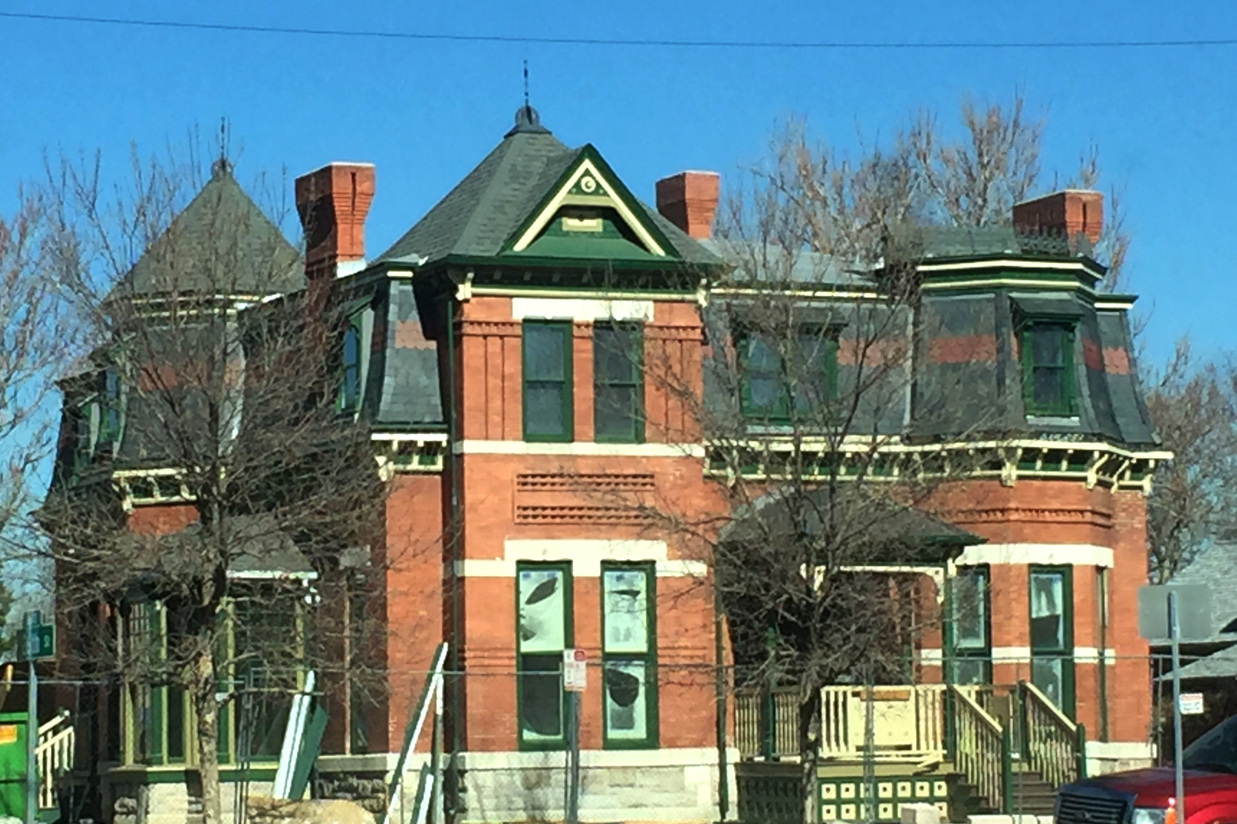 Five Points victorian preservation